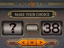 Игровой автомат More Or Less для любителей биткоин слотов